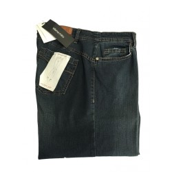 ELENA MIRO' PUSH-UP lightweight women jeans with pocket applications 84% cotton 13% nylon 3% elastane