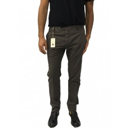 ZANELLA man brown pants fit slim mod HORSE / M 96% cotton 4% elastane