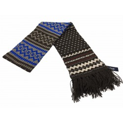 DRAKE'S LONDON scarf man 100 % lambswool MADE IN SCOTLAND
