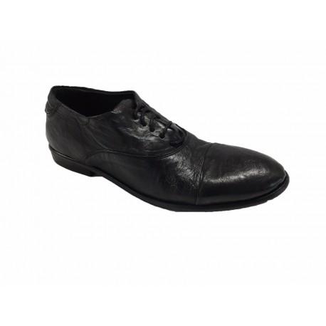 KUDETA' woman's shoe black heel cm 3 mod 623403 MADE IN ITALY