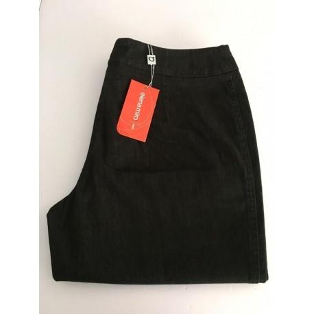 ELENA MIRO' pantalone donna nero invernale