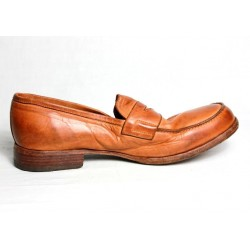 OPEN CLOSED MAN SHOES LEATHER Color 100% leather MADE IN ITALY