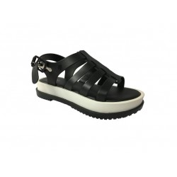 MELISSA sandal black / white female model FLOX Article III AD 31706