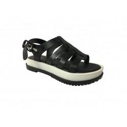 MELISSA sandalo donna nero / bianco modello FLOX III AD art 31706