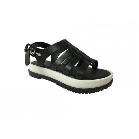 MELISSA sandal black / white female model FLOX Article III AD 31706