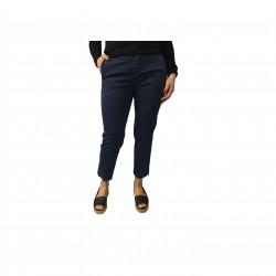 ASPESI pants blue mod woman H106 98% cotton 2% elastane ankle length