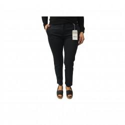 ASPESI pantalone donna mod H105 blu 98% cotone 2% elastan