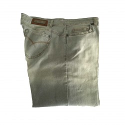 ELENA MIRO 'Grey woman faded jeans 97% Cotton 3% elastane
