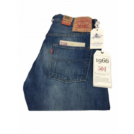LEVI'S VINTAGE CLOTHING 1966 custom Jeans Uomo Lavaggio 0010