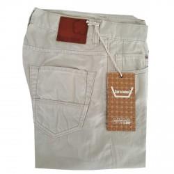 CARE LABEL jeans uomo slim 402 cotone fiammato 100% cotone MADE IN ITALY ghiaccio
