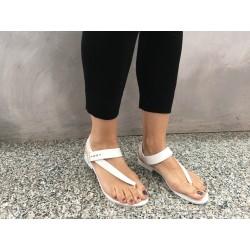MELISSA + JASON WU sandalo donna panna 100% caucciù MADE IN BRAZIL mod 31671