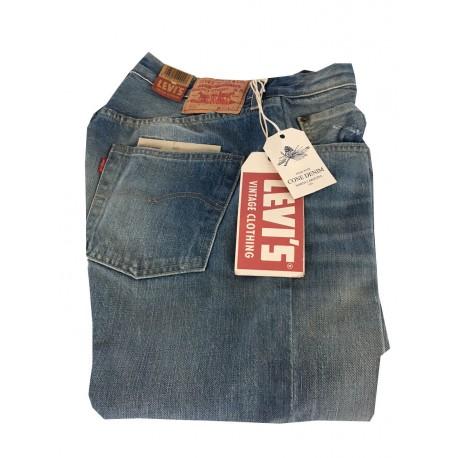 LEVI'S VINTAGE CLOTHING jeans 501 1966 chiaro con rotture