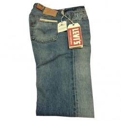 LEVI'S VINTAGE CLOTHING jeans 501 1978 100 % cotone con rotture vest. regolare