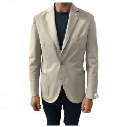 L.B.M 1911 giacca uomo sfoderata mastice 52% cotone 48% poliestere