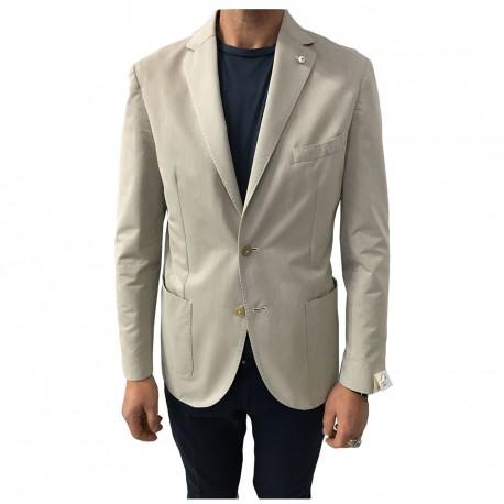 L.B.M 1911 jacket unlined man's jacket 52% cotton 48% polyester