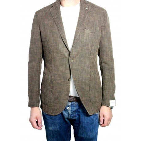 LUBIAM 1911 unlined jacket man malfilé moro