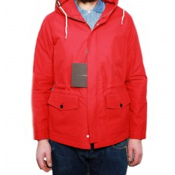 MACKINTOSH giaccone uomo sfoderato rosso modello SORIDAIN MADE IN SCOTLAND