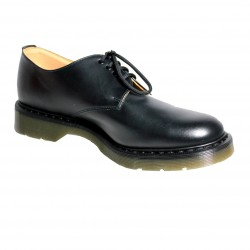 Solovair - Man leather shoe with laces colored