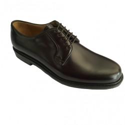 BERWICK 1707 scarpa uomo moro allacciata 100% pelle MADE IN SPAIN