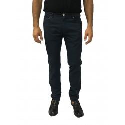 ZANELLA pantalone uomo mod 5 tasche cotone leggero mod WAVE/SLIM 97% cotone 3% elastan MADE IN ITALY