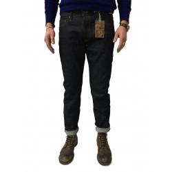 TELLASON jeans man mod 101.03 LADBROKE GROVE SLIME TAPERED CONE MILLS WHITE OAK