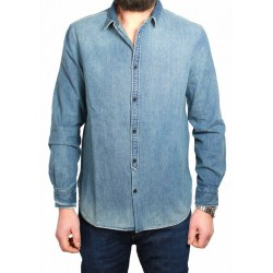 MADE & CRAFTED LEVI'S camicia 100% cotone vestibilità regular slim