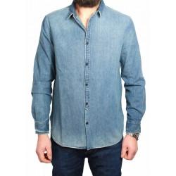 MADE & CRAFTED LEVI'S camicia 100% cotone vestibilità regular slim