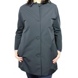 ASPESI women's jacket model ROSS blue outer 53% cotton 47% polyester