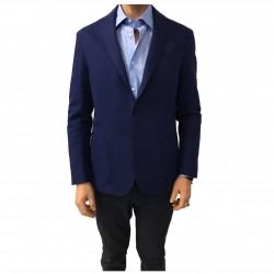 ASPESI giacca uomo blu chiaro sfoderata mod CJ74 6268 100% cotone MADE IN ITALY