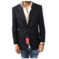 LUIGI BIANCHI MANTOVA giacca tessuto spinato VITALE BARBERIS CANONICO SUPER120'S