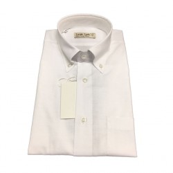 ICON LAB 1961 man shirt half sleeve white flared cotton