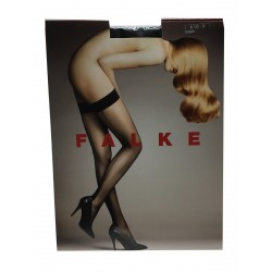 FALKE top hold ups with black line mod 42084 74% polyamide 26% elastane