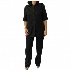 ELENA MIRO' linea LE SARTORIE Shirt + Trousers Black