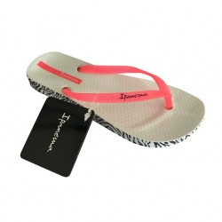 IPANEMA women's flip-flops SOFT pink/white MADE IN BRAZIL