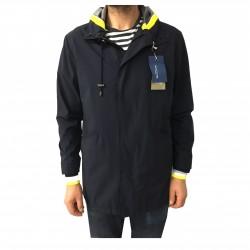 2SHIRTS.AGO blue man's jacket mod CHP2IMP02 80% polyamide 20% elastane