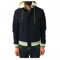 2SHIRTS.AGO blue man's jacket mod CHP3IMC06 80% polyamide 20% elastane
