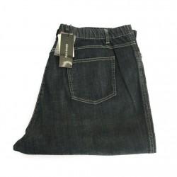 ELENA MIRO' jeans donna leggerò con elastico blu 98% cotone 2% elastan