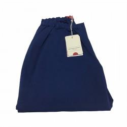 MARINA SPORT by Marina Rinaldi pantalone donna corto blu chiaro mod RARITA 97% cotone