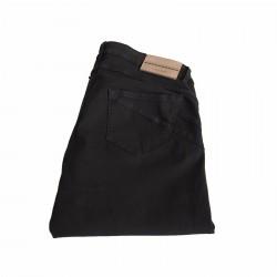 MARINA SPORT by Marina Sport jeans donna nero mod RAFFICA fondo cm 17 cotone