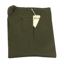ASPESI pantalone uomo verde mod BEAKER SLIM CP57 F026 LG  98% cotone 2% elastan MADE IN UE