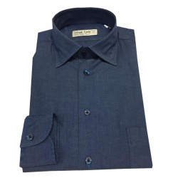 ICON LAB 1961 denim shirt with pocket