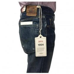 LEVI'S VINTAGE CLOTHING jeans uomo 501Z 50154-0072 100% cotone