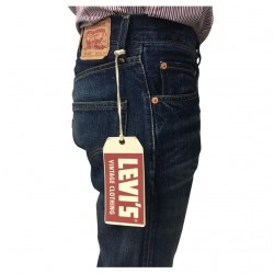 LEVI'S VINTAGE CLOTHING jeans man 505 67505-0100 100% cotton