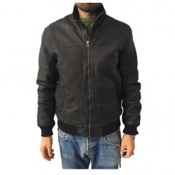 D'AMICO jacket black man mod NEW Fredd DGU0233