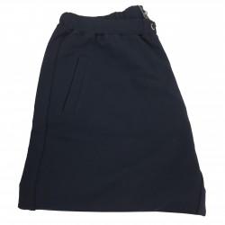 PERSONA by Marina Rinaldi suits trousers mod OCULATO blue 95% cotton 5% elastane