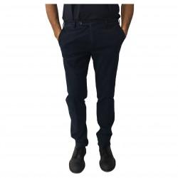 ZANELLA man blue pants cotton mod DUKE/2 MADE IN ITALY