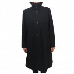 PERSONA by Marina Rinaldi mesh black long sleeve fashion ANGOLO