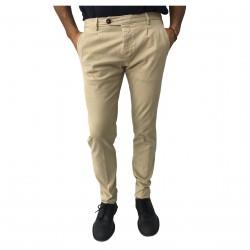 ZANELLA pantalone uomo cotone invernale beige mod MEDWAY/M MADE IN ITALY