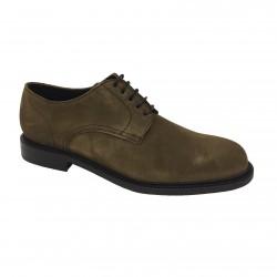 BERWICK 1707 scarpa uomo beige mod 4404 H0192 LONDON 100% pelle scamosciata