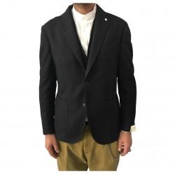 L.B.M 1911 giacca uomo antracite mélange 45% cotone 40% lana 15%poliammide 2837